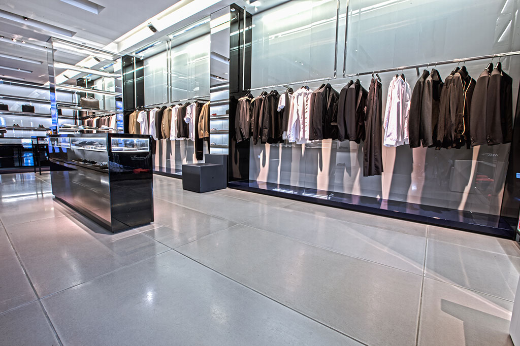 Dior Homme Miami Florida Tile Flooring Installation