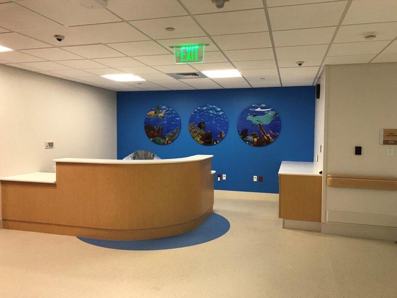 Jackson Holtz Hospital Flooring Installation Project