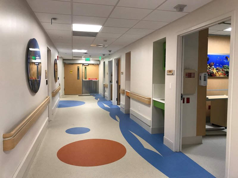 Jackson Holtz Hospital Flooring Installation Project