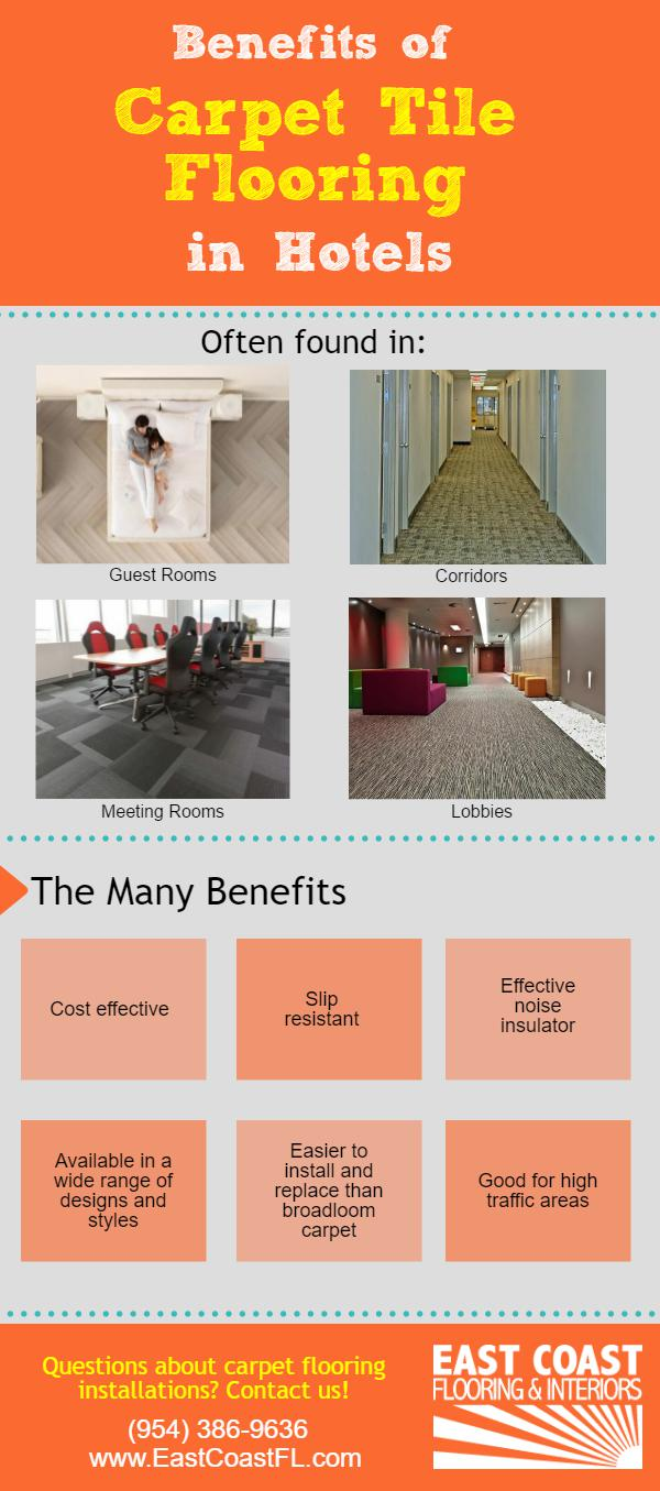 Benefits Of Carpet Tile Flooring In Hotels East Coast Fl